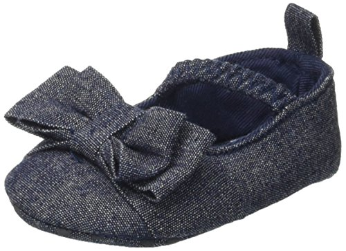 Bimbus Baby Mädchen 171ielp002 Krabbel-& Hausschuhe Blu (Blu Scuro (Jeans) 01)