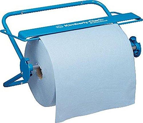 kimberly-clark-professional-6146-wandspender-fur-wischtucher-grossrolle-blau