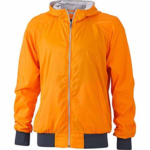 JAMES & NICHOLSON - veste de sport légère - coupe-vent et déperlante - doublée - JN1107 - Femme Orange