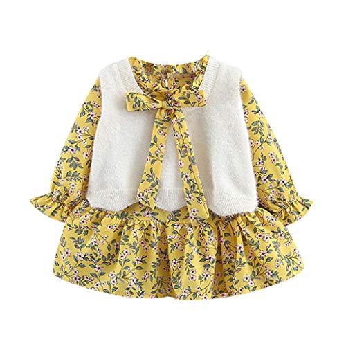 Cuteelf Warme Jackenwinterpullover-warme Hemdkleidung des weiblichen Baby LangarmprinzessinTupfenstrickjacken Klein kindkinder Baby Jungen Sweat Shirt Buch staben mantels -