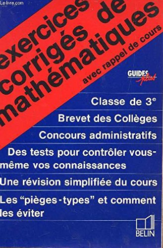 Annales vuibert corrigees - bc - brevet des colleges - francais - 1981 - n°9