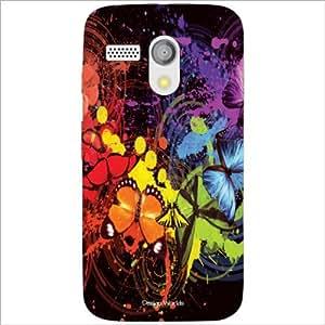 Design Worlds - Motorola Moto G Designer Back Cover Case - Multicolor Phone...