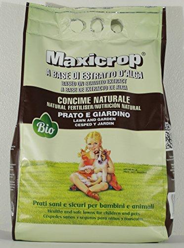 MAXICROP PRATO E GIARDINO CONCIME NATURALE CONFEZIONE DA 4 KG