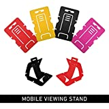 Kanvas Cases Mobile Viewing Stand Smartphone Stand Pack O 2, Simple, Useul & Suitable Or Almost All Mobile Phones-Pack O 2 ( 4 Units )