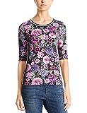 Marc Cain Sports Damen T-Shirts Mehrfarbig (Alpine Rose 262), 42 (Herstellergröße: 5)