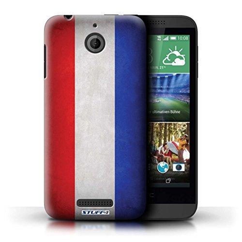 Kobalt® Imprimé Etui / Coque pour HTC Desire 510 / Pays de Galles/gallois conception / Série Drapeau Pays-Bas