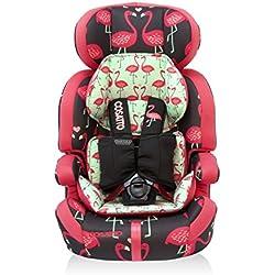 Cosatto Zoomi Grp 123-Silla de coche para niños (Flamingo Fling)
