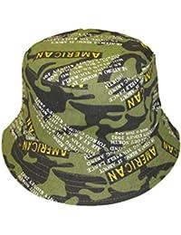 Men's Boy's Camouflage Lightweight Cotton Bush Bucket Hat - One Size