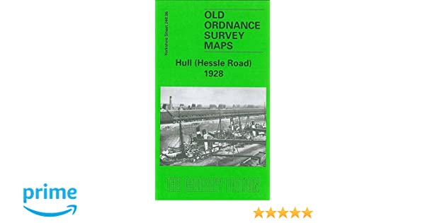 Old Ordnance Survey Maps Hull Hessle Road 1928 Yorkshire Godfrey Edition