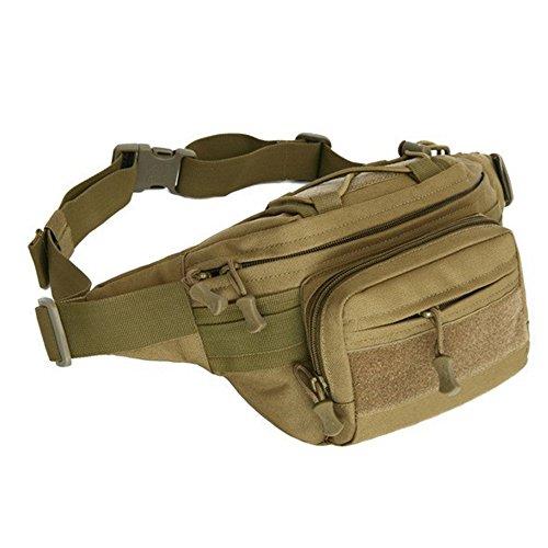 Galopar sacchetto esterno della vita impermeabile Sport sacchetto della cassa borsa tracolla Messenger Bag per i viaggi escursionismo escursioni in bicicletta