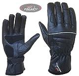 Sommer Motorradhandschuhe von PROANTI Leder Motorrad Handschuhe Größe M