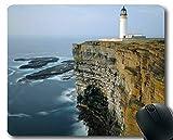 Genähte Kanten-Mausunterlagen, Leuchtturm-Oregon-Küsten-Mausunterlage