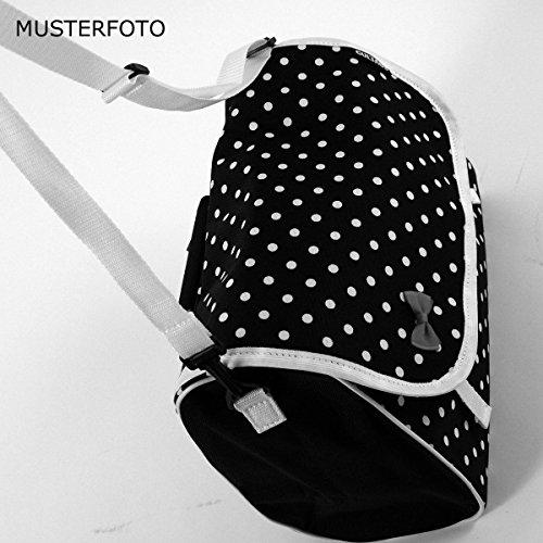 C-BAGS INDYGO single MEADOW Gepäckträger Fahrradtasche verschiedene Muster black-grey