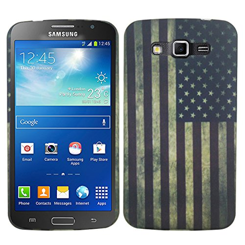 Heartly USA Flag Printed Design High Quality Hard Bumper Back Case Cover For Samsung Galaxy Grand 2 G7102 G7106 - Blue  available at amazon for Rs.199