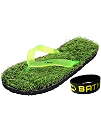 Charan Collections Unisex Grass Slippers Combo | Flip Flops For Men | House Slippers | Chappal