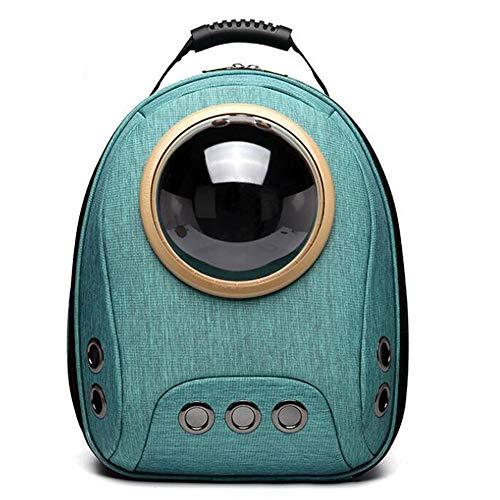 Pet-MM 2019 New Raum-Katzen-Rucksack Fenster Astronaut Capsule Tragetasche für Chihuahua-Terrier-Welpen Kleintiere Hunde Katzen Oxford-Gewebe,3