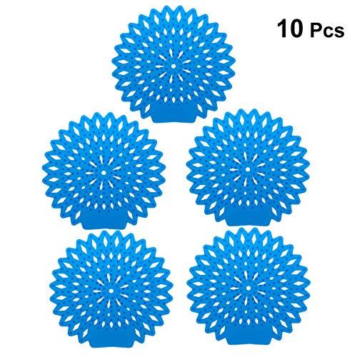 Healifty 10 unids Desodorante Pantalla urinario Anti-Salpicaduras y neutralizador de olores Ideal para Cada urinario y retrete de Pared