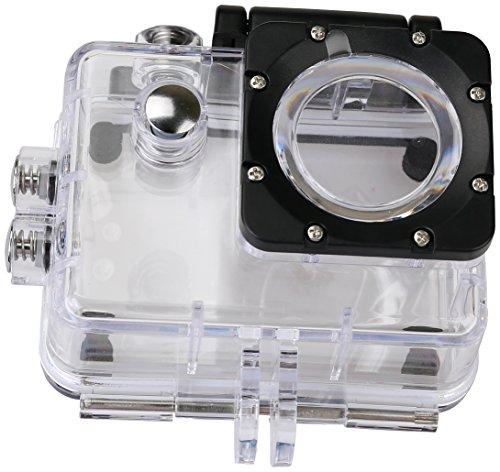 Rollei Unterwassergehäuse für Rollei Actioncam 372/510 / 610/525 / 625 - Wasserdicht für Tauchtiefen bis zu 40 Meter - Transparent