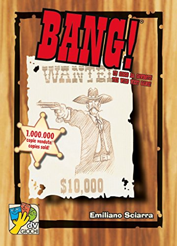 dV Giochi [UK-Import] Bang! 4th Edition Card Game - Bang Spiel