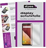 dipos I 2X Schutzfolie klar passend für Wiko View Prime Folie Displayschutzfolie