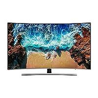 Samsung 65 Inch TV Smart 4K Ultra HD Curved Model Silver - UA65NU8500RXUM