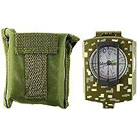 LB trading - Detector de Metales Impermeable portátil con Kit de brújula para Principiantes en Interiores y Exteriores, 0.37, Color Army Green