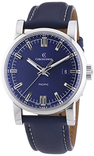 chronoswiss-pacific-mens-automatic-watch-with-blue-dial-analogue-display-and-blue-strap-2883bl