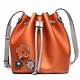 il sacchetto di spalla del sacchetto di acquisto del bestiame di modo di svago del sacchetto di buca di colore del sacchetto di grande femmina ha colpito marrone