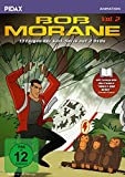 Bob Morane, Vol. 2 / Weitere 13 Folgen der beliebten Zeichentrickserie nach der Romanreihe von Henri Vernes + Booklet (Pidax Animation) [2 DVDs]