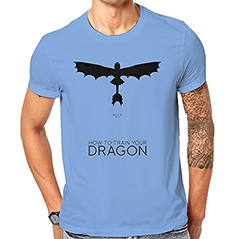 How To Train Your Dragon Poster T-Shirt Men