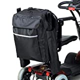 Homecraft Wheelchair Bag with Crutch Pocket, Wheelchairs & Scooters, Large Carry Bag for Walking Sticks & Crutches, Waterproof Accessory Storage Bag, Zipped Pockets (Eligible for VAT relief in the UK)
