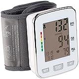newgen medicals Pulsmesser: Med. Handgelenk-Blutdruckmessgerät, XL-Display, 2x 60 Speicherplätze (Blutdruckgeräte)
