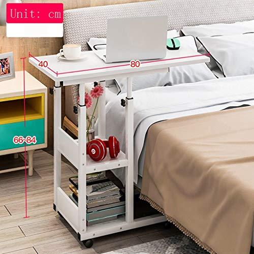 Computer Desk Laptop Schreibtisch für Bett, Bett Schreibtisch | Frühstücks-Serviertablett, Metallklammer-Werktisch, d -