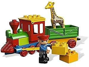 lego duplo legoville 6144 jouet de premier ge le train du zoo jeux et jouets. Black Bedroom Furniture Sets. Home Design Ideas