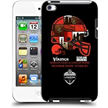 Official NFL Cleveland Browns Helmet 2017 London Games Teams Hard Back Case for Apple iPod Touch 4G 4th Gen