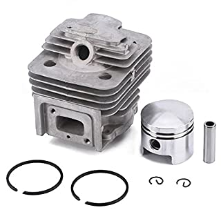 Zerodis Cylindre Piston Kits Anneaux Joint Joint Circlip Assy tondeuse Accessoires Fit MITSUBISHI TL52 BG520 Brush Cutter