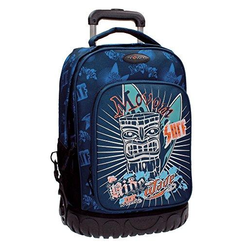 Movom 3382951 Mochila Escolar, 32.38 Litros, Color Azul