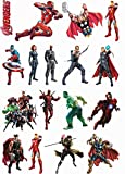 #6: Avengers Stickers