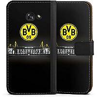DeinDesign Samsung Galaxy A5 (2017) Tasche Leder Flip Case Hülle Borussia Dortmund BVB Stadion