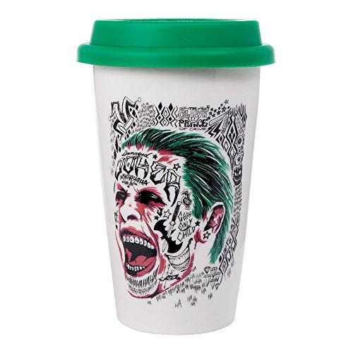 Il Joker suicidio viaggio termico tazza di caffè Squad ufficiale Jared Leto