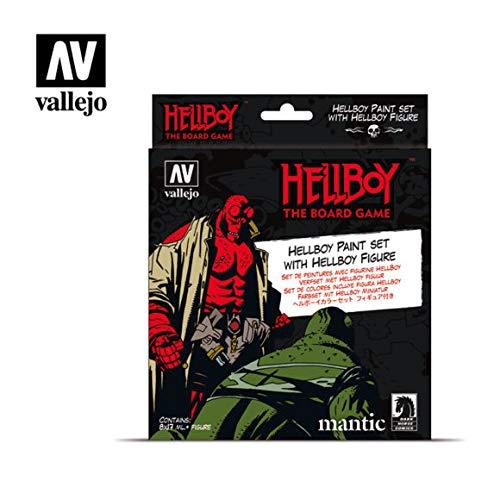 Vallejo 070187 Hellboy - Juego de construcción de maquetas