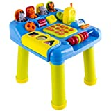 (LPT) deAO® Kids Learning Table Educational Toys with Music