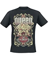 Queen Live In Concert - Flourish T-shirt noir