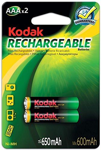 KODAK 30955042 Piles rechargeables Ni-MH AAA / LR03 650 mAh
