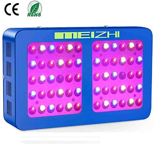 MEIZHI 300W Reflector Series LED Pflanzenlampe Vollspektrum mit Daisy Chain LED Grow Light Full Spectrum für Zimmerpflanzen Gemüse und Blumen im 80x80CM Growzelt -