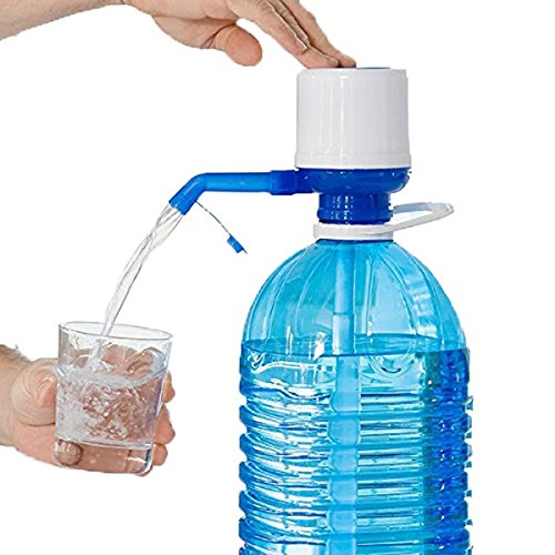 Dispensador de agua para garrafas o botellas. Grifo ideal para tus botellas,puedes beber agua de una manera fácil y limpia. Compatible con la mayoría de botellas grandes que usas a diario en casa