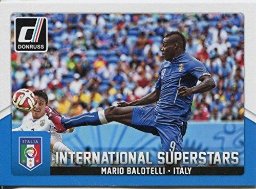 Donruss football 2015 Int. Superstars Chase Card#27 Mario Balotelli