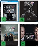 House of Cards - die komplette Staffel 1-4 im Set - Deutsche Originalware [16 Blu-Rays]