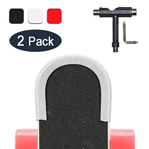 2 Pack Skate Deck protectores de la nariz y los guardias de...