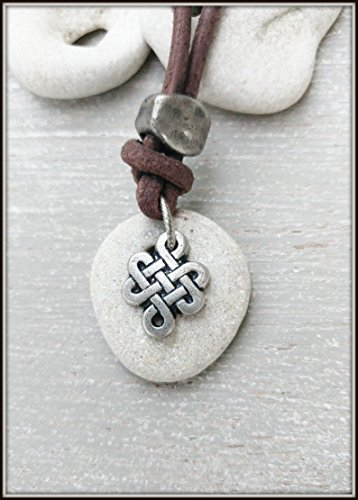 natural-hag-stone-medallion-necklace-for-men-celtic-knot-amulet-natural-hag-stone-necklace-mens-leat